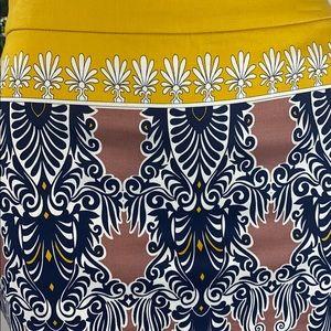 J. Crew Skirts - J. Crew Scroll Pencil Skirt